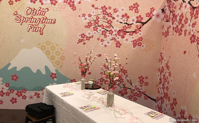 Oishii Springtime Fun