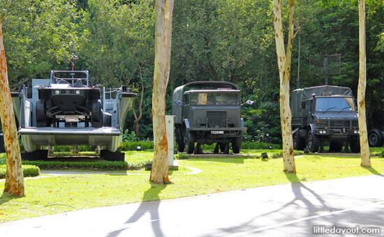 Army Museum Trucks