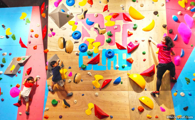 Bring your BFF and BFF's kids to BFF Climb for some Family Fun