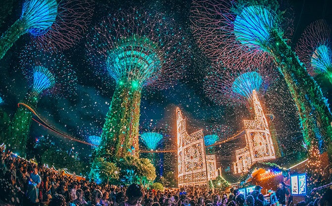 Have A Spectacular, Family-Friendly Time At Christmas Wonderland 2019 At Gardens By The Bay