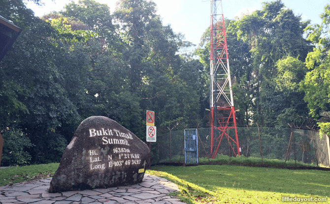 Bukit timah Hill Summit