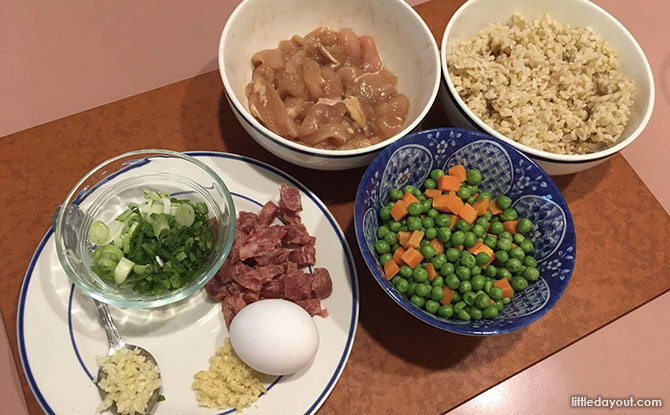 Simple Home-cooked Recipe: Easy Chicken Fried Rice Ingredients