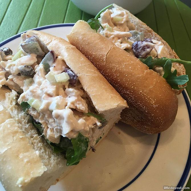 Chicken Salad Sandwich Rolls