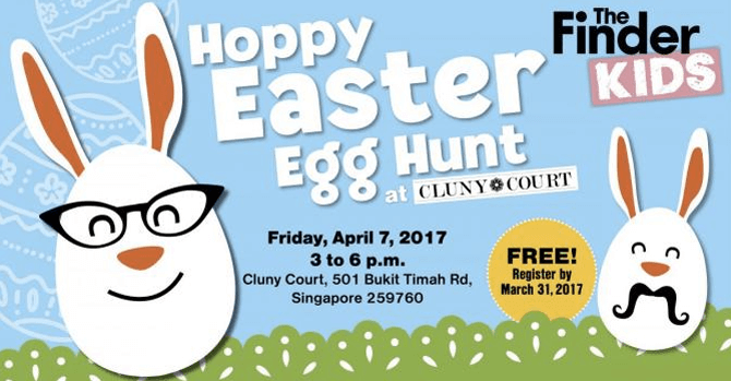 Cluny Court's Hoppy Easter Egg Hunt