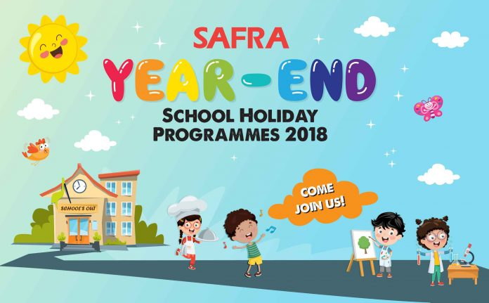 SAFRA Clubs Have Holiday Light-Ups, Cool Workshops For Kids And A Festive Pool Party This Year-End School Holidays 2018
