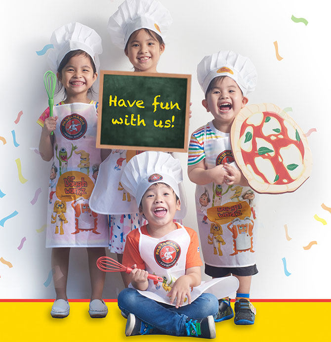Doughworkz by PastaMania - Pizza Birthday Party Singapore