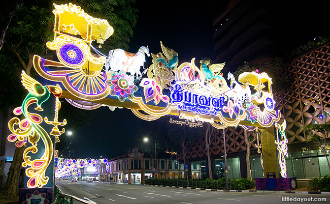Grand archway, Little India Light Up 2019