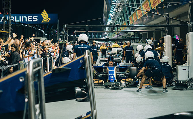Singapore Formula 1 Grand Prix Race