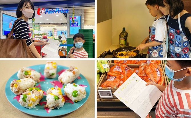 Fantastic Food-ventures With FairPrice: Have A Fun Family Adventure Cooking At Home