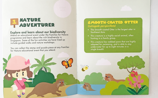 Families for Nature Booklet