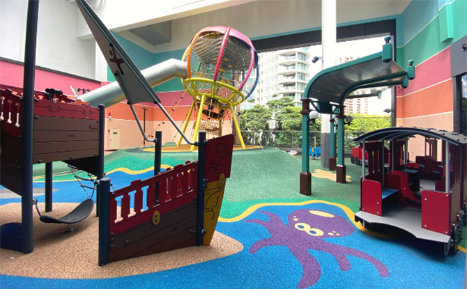 Travel the World at the Great World City Playground