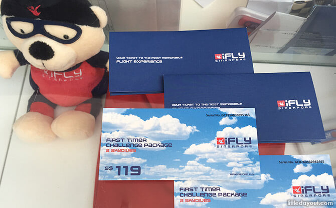 iFly Singapore Review First-Timer Challenge Package