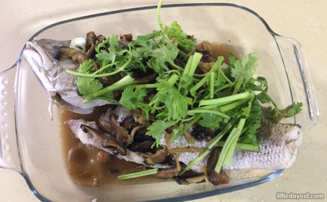 Home-cooked Recipe - Steamed Fish