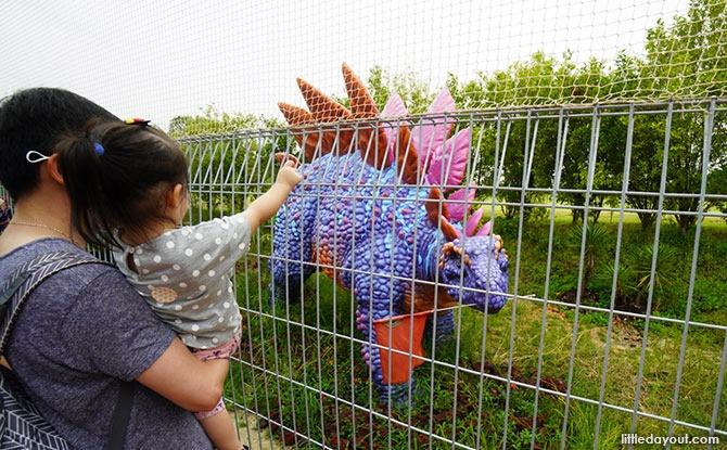 Nets at the Stegosaurus, Jurassic Mile