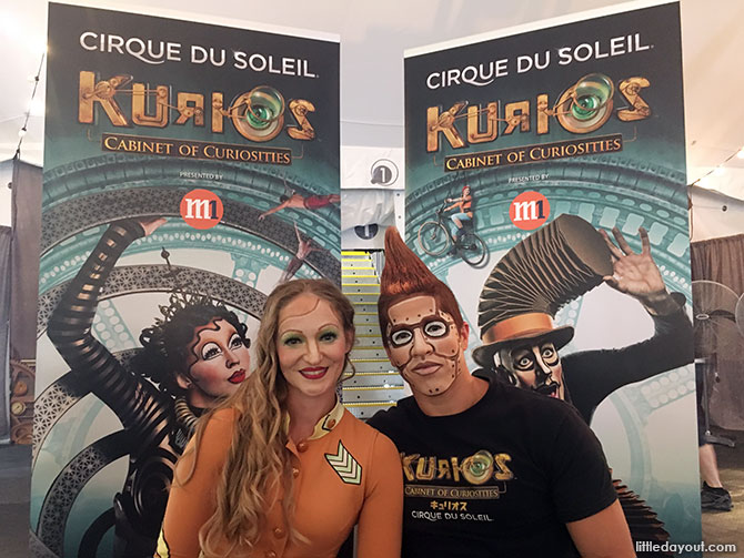 Cirque du Soleil, Singapore 2019 - KURIOS – Cabinet of Curiosities In Singapore