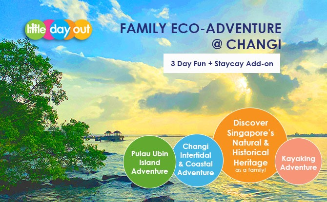 Little Day Out's Family Eco-Adventure @ Changi - 3 Day Fun