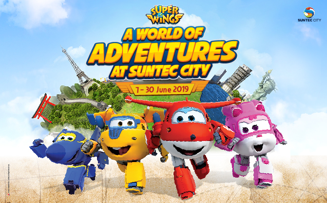 Super Wings Touches Down At Suntec City From 7 to 30 June 2019