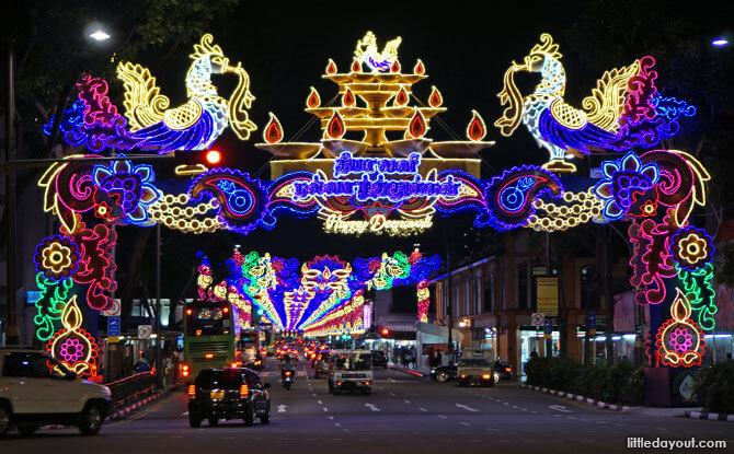 Deepavali Light Up in Singapore 2018