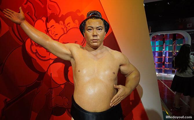 Mitsugu Chiyonofuji wax figure