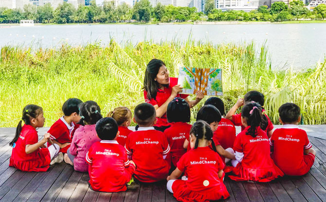 Preschool Beyond Just Classrooms Learning - MindChamps PreSchool Leisure Park Kallang