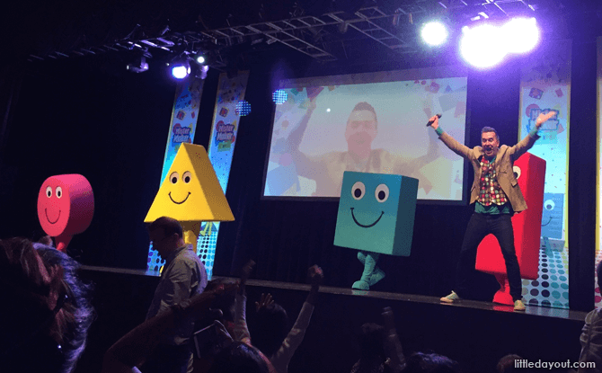 Mister Maker and the Shapes Live on Stage