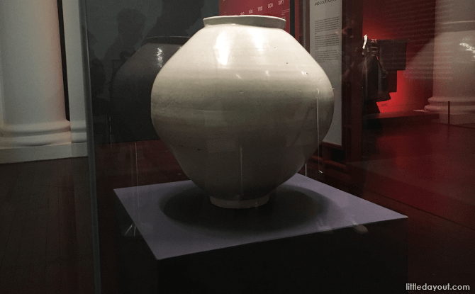 Moon Jar from the Joseon dynasty
