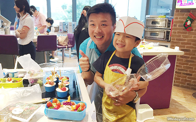 Mount Alvernia Hospital: Creative Cooking Family Challenge