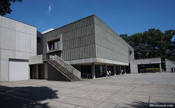 Ueno Park's Museum of Western Art in Tokyo