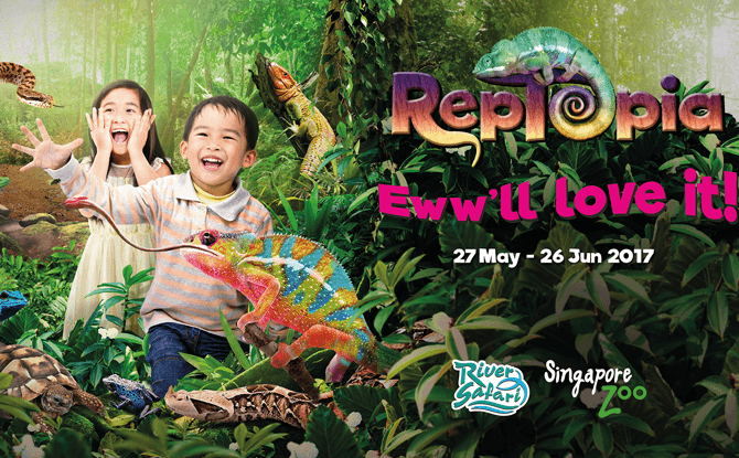 RepTopia & Zoolympix 2017 at Singapore Zoo