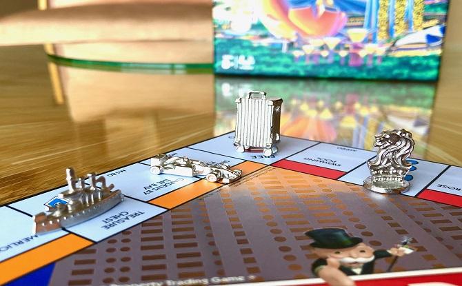 Ritz Carlton Monopoly Game