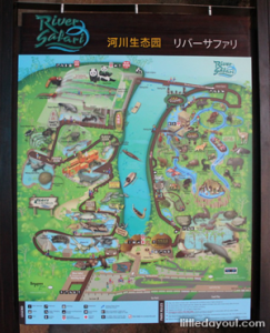 River Safari Map