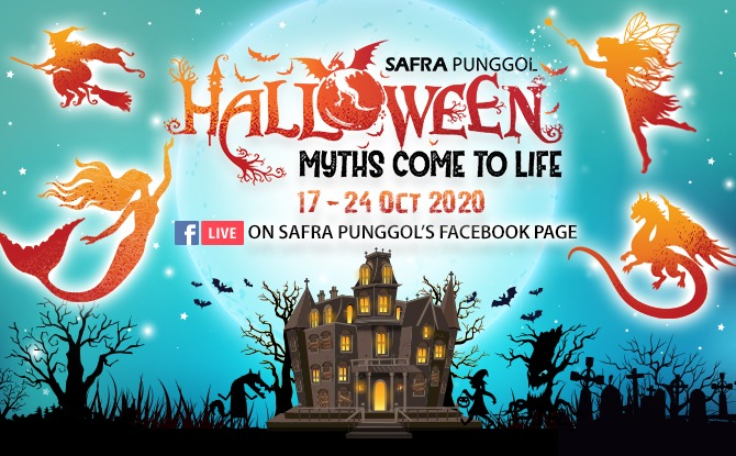 SAFRA Punggol Halloween Myths Come To Life: Family-Friendly Halloween Fun From 17 To 24 October 2020