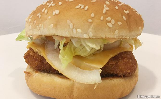 Burger King Mentaiko Salmon Burger Taste Test