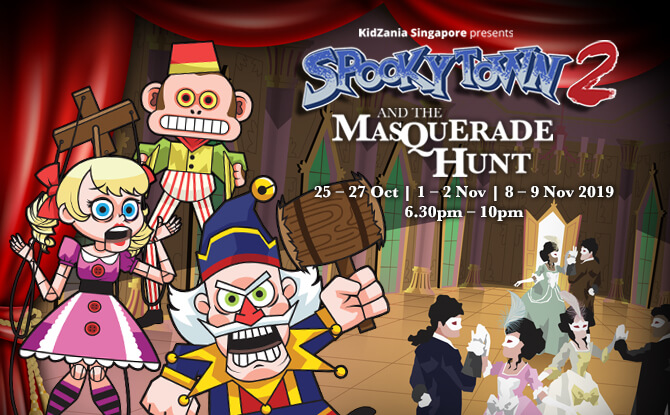 Join In The Spooky Family Fun At SpookyTown 2: The Masquerade Hunt!