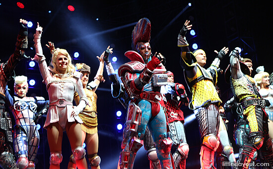 Starlight Express Cast