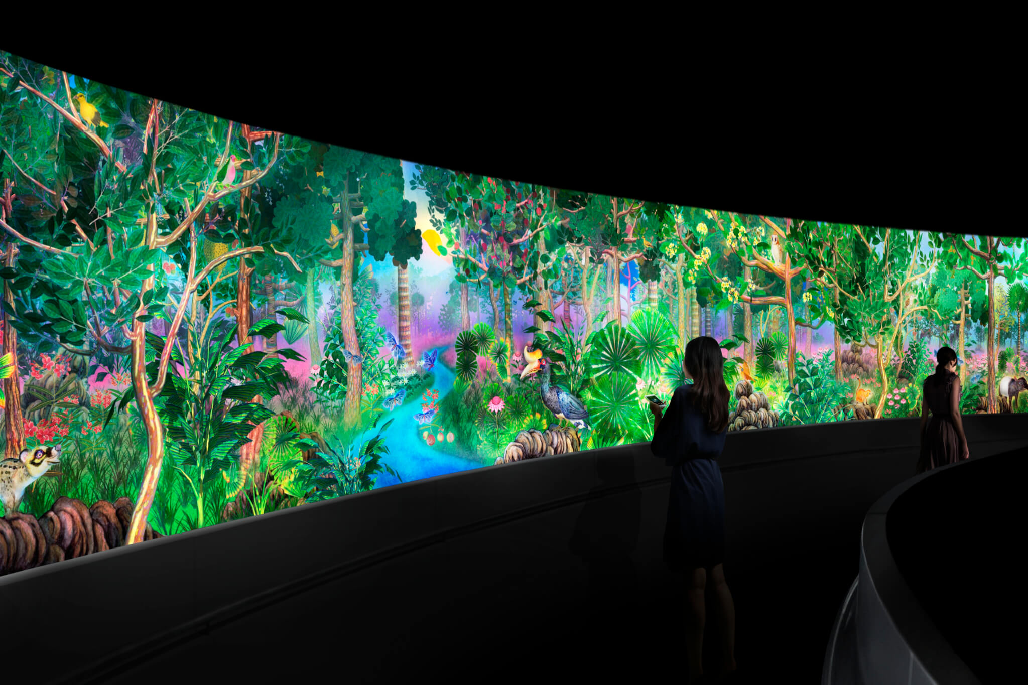 Story of the Forest at National Museum of Singapore