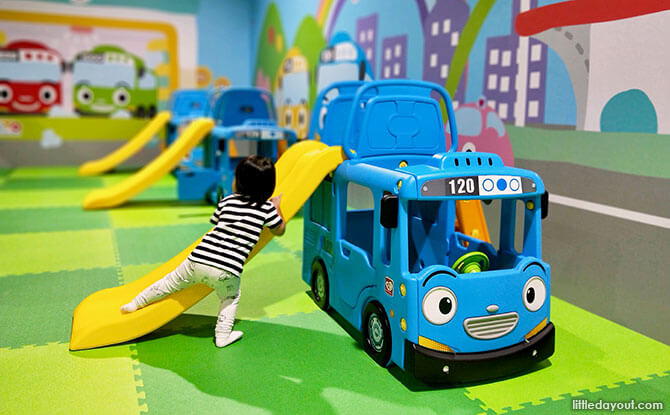 Tayo Station at Downtown East: New Indoor Playground At Pasir Ris - Tayo Bus Station – Buy 3 Get 1 Free