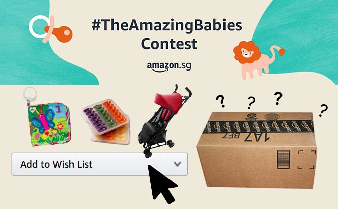 Celebrate Life with Amazon Singapore's #TheAmazingBabies Contest: Share Your Wish List For A Chance To Win A Mystery Box Worth Up To $600