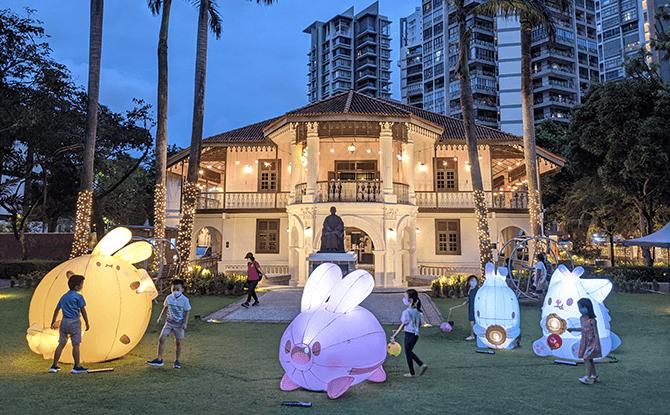 Lanterns Light Up Moonlit Moments Till 26 Sep At Sun Yat Sen Nanyang Memorial Hall