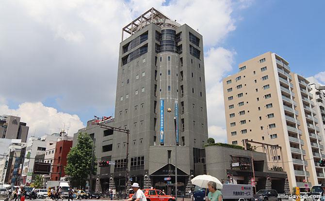 Tokyo Fire Museum at Shinjuku