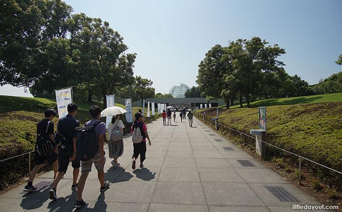 Arriving at Tokyo Sea Life Park