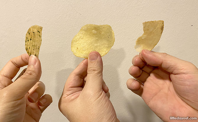 Truffle-Flavoured Potato Chips in Singapore