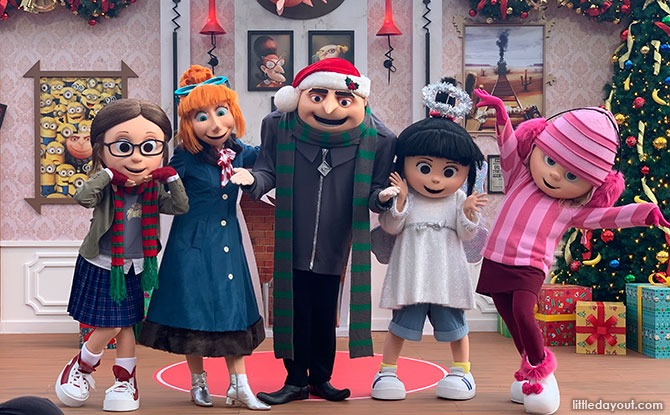 Meet-and-greet with Despicable Me Family - Universal Studios Singapore