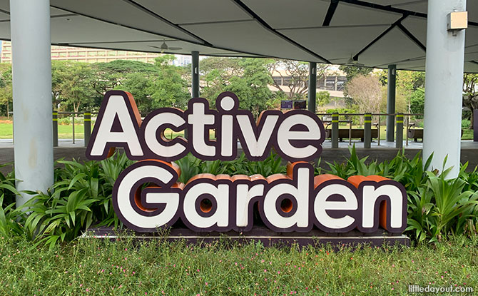 Active Garden At Gardens By The Bay: Green Space Along The Waterfront Promenade