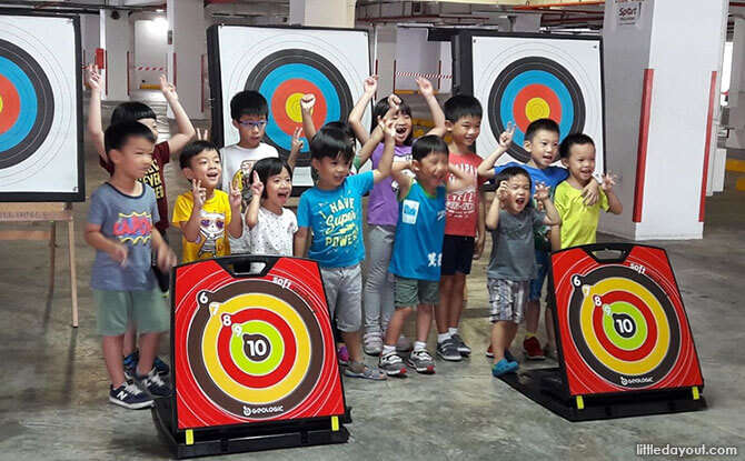 Archery, Gymnastics and Mini Tennis ActiveSG Sports Programmes For Preschoolers