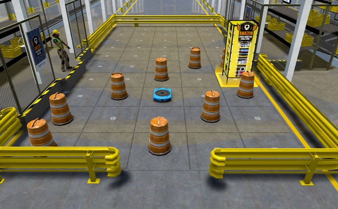 Amazon Cyber Robotics Challenge 2021