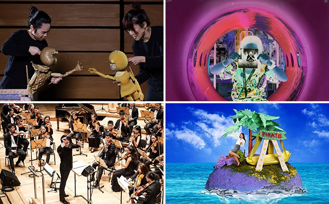 """Arts in Your Neighbourhood 2021 """"Marches"""" To Pasir Ris With An Interactive Otter Story Game, Immersive Pinhole Camera Experience, Art Trails & More"""