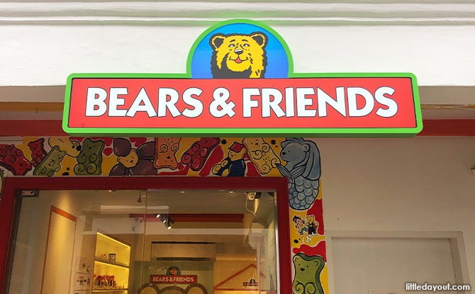 Bear and Friends Candy Store
