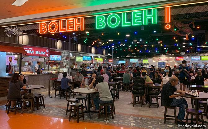 Boleh Boleh! At Clementi Mall: Tuck Into Hawker Fare At This Malaysian-Themed Food Court