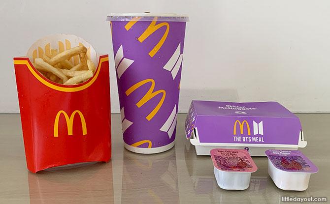 McDonald's BTS Meal Arrives In Singapore: Taste Test